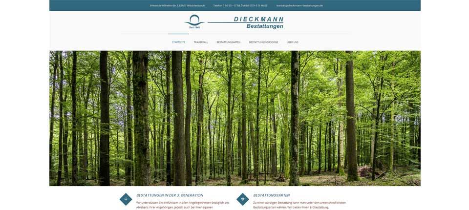 Dieckmann Bestattungen